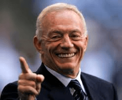 Cowboys Jerry Jones Bench