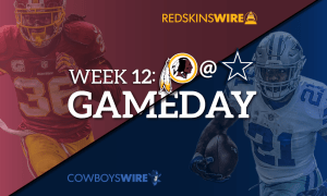 NFL Thanksgiving Schedule Redkins at Cowboys