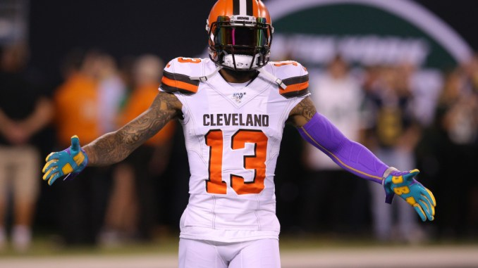 Odell Beckham Jr., Browns