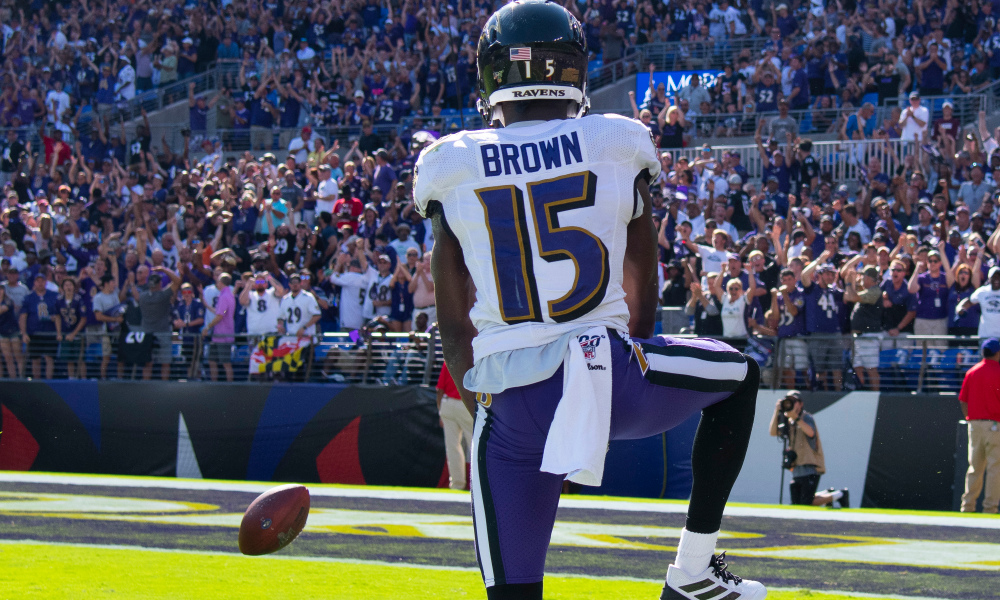 Marquise Brown, Ravens
