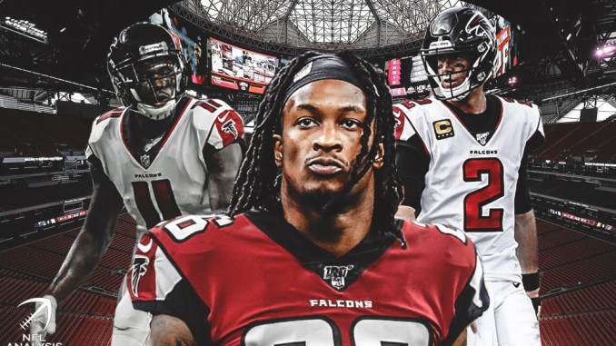 Matt Ryan, Todd Gurley, Julio Jones, Falcons