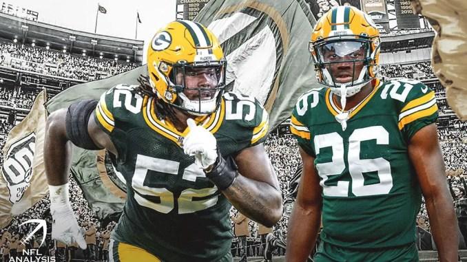 Rashan Gary, Darnell Savage, Packers