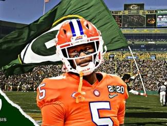 Tee Higgins, Packers, NFL Draft