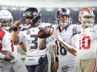 NFL, NFC West, Kyler Murray, Russell Wilson, Jared Goff, Jimmy Garoppolo