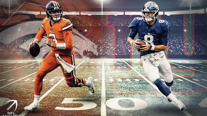 Daniel Jones, Giants, Drew Lock, Broncos