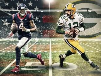 Deshaun Watson, Texans, Aaron Rodgers, Packers