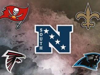 NFL, NFC South, Saints, Falcons, Panthers, Buccaneers