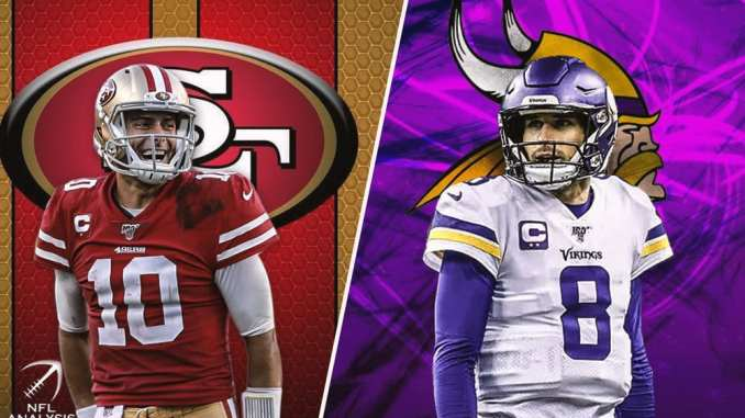 Vikings, 49ers, Jimmy Garoppolo, Kirk Cousins
