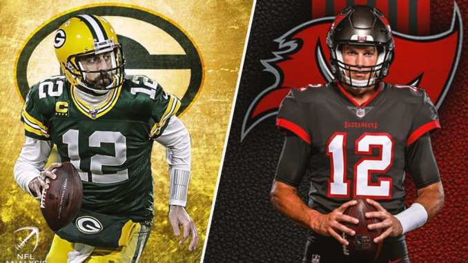 NFL: Will Tom Brady or Aaron Rodgers have a better 2020 season?