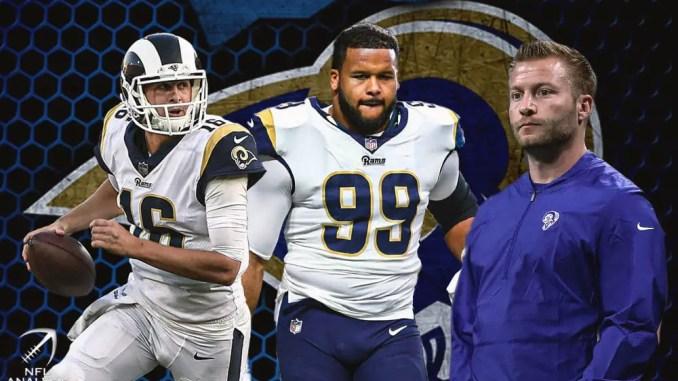 Rams, Jared Goff, Sean McVay, Aaron Donald