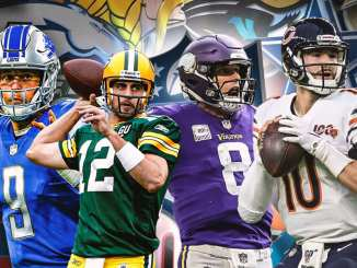 NFC North, Packers, Vikings, Bears, Lions, Matthew Stafford, Aaron Rodgers, Mitchell Trubisky