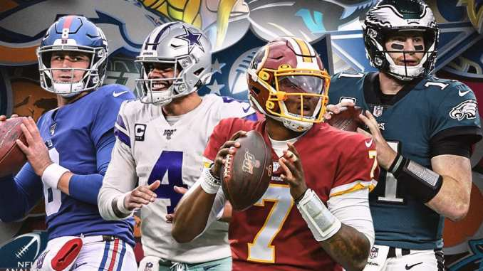 NFC East, NFL, Cowboys, Eagles, Redskins, Giants