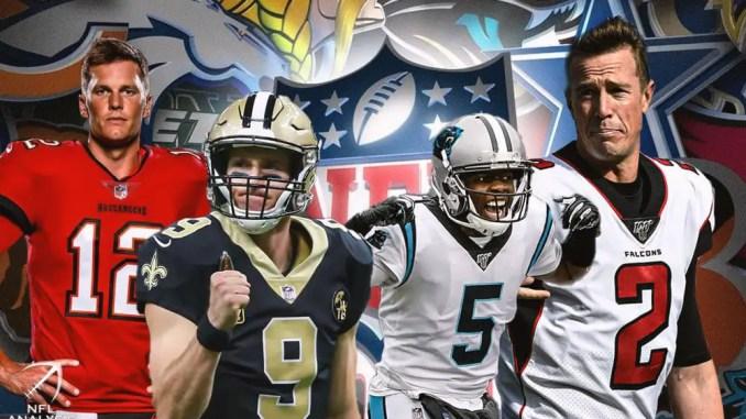 Buccaneers, Falcons, Saints, Panthers, NFL, NFC South