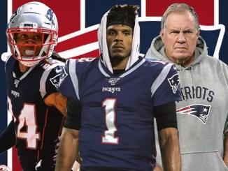Patriots, Bill Belichick, Stephon Gillmore, Cam Newton
