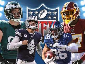 Cowboys, Giants, Eagles, Washington Football Team, NFC East, NFL