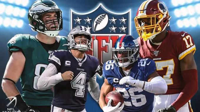 Cowboys, Giants, Eagles, Washington Football Team, NFC East, NFL