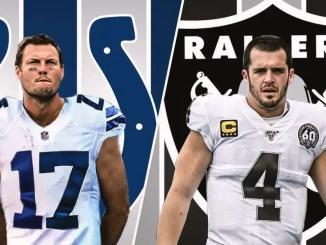 Colts, Raiders, Philip Rivers, Derek Carr