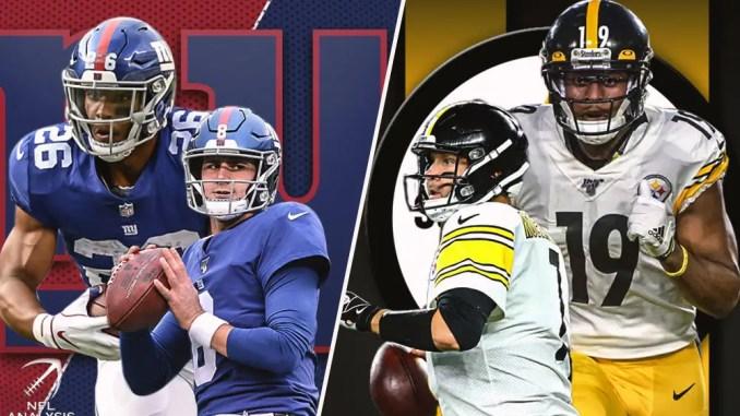 Steelers, Giants