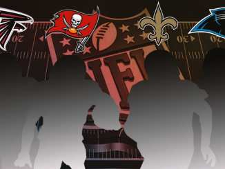 NFC South, NFL, Saints, Panthers, Falcons, Buccaneers