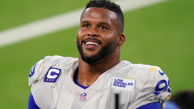 Rams, Aaron Donald, Bills, Washington Football Team