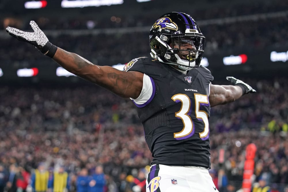 Ravens, Gus Edwards