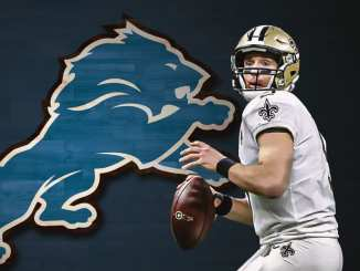 Drew Brees, Saints, Lions