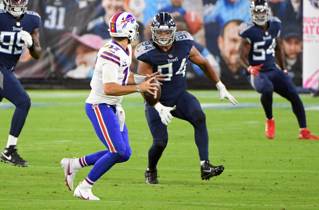 Buffalo Bills, Josh Allen, Tennessee Titans