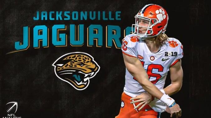 Trevor Lawrence, Tim Tebow, Jaguars, NFL Draft