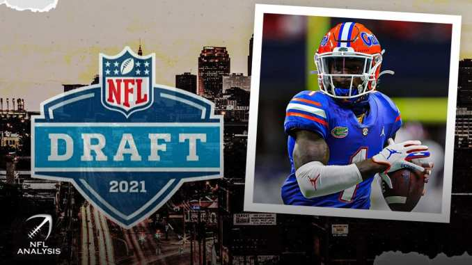 Kadarius Toney, NFL Draft
