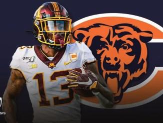 Rashod Bateman, Bears, NFL Draft