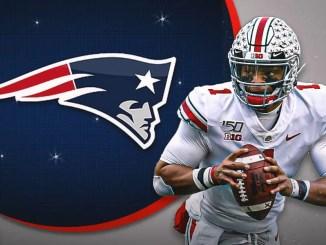 Justin Fields, Patriots, 2021 NFL Draft