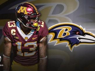 Rashod Bateman, Ravens, NFL Draft