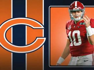 Mac Jones, Chicago Bears, Bears, 2021 NFL Draft