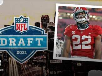 Najee Harris, NFL Draft