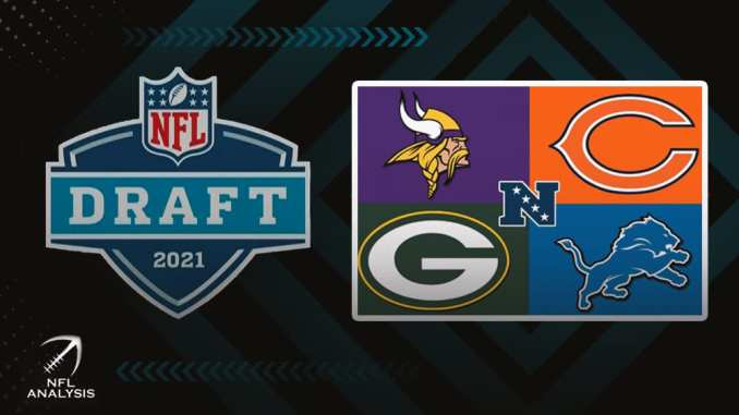 NFC North, NFL Draft