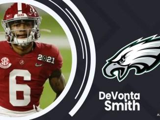 DeVonta Smith, Eagles