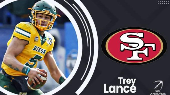 Trey Lance, 49ers