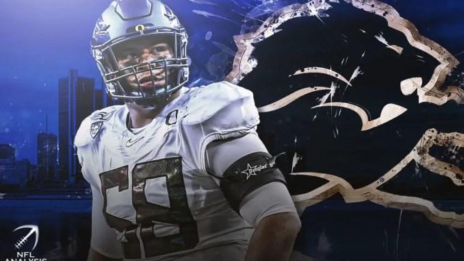 Detroit Lions, Penei Sewell, 2021 NFL Draft
