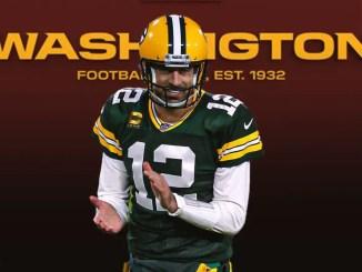 Aaron Rodgers, Washington Football Team, Green Bay Packers