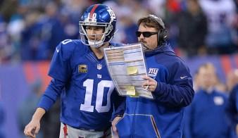 Eli Manning y McAdoo / Giants