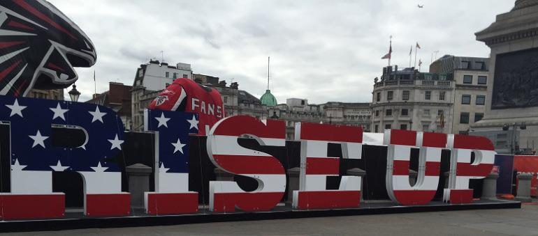 Highlights – NFL Fan Rally, Trafalgar Square London
