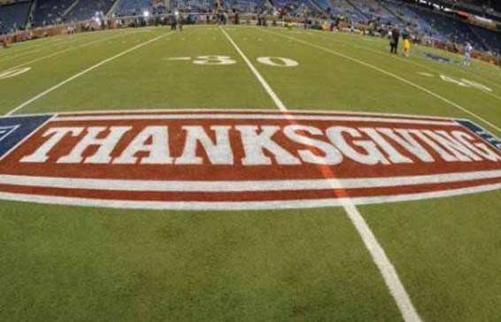 Thanksgiving Football – Getting in the spirit!