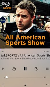 TalkSport2 All American Sports Show