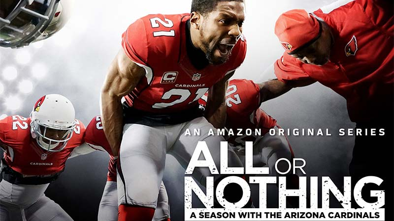 Amazon Original Series All or Nothing: A Season with the Arizona Cardinals Premieres on Prime Video on July 1