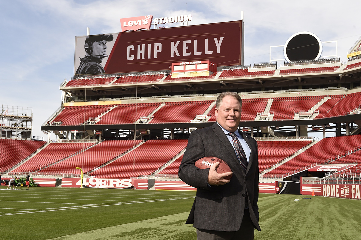 Can Chip Kelly save the 49ers?