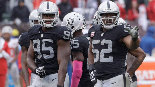 The Raiders defence needs to become a black hole for offences