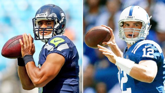 Luck vs Wilson – who's had the toughest time?