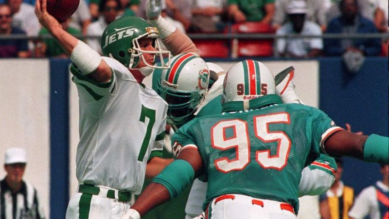 Dolphins v Jets 1986. A classic 30 years on that UK fans still remember with fondness