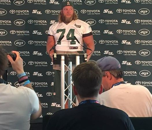 Goodbye Nick Mangold