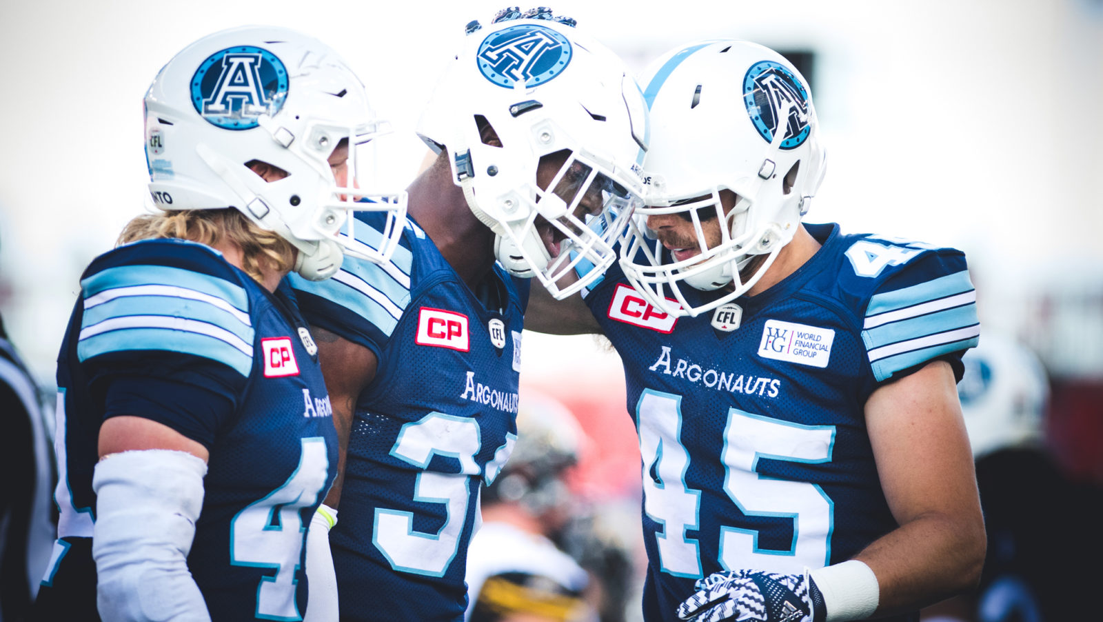 Sailing in the right direction – the Toronto Argonauts are improving.
